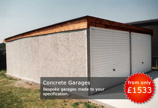 Fertiggarage beton  Derby Sheds - Concrete Garages | Derby Sheds